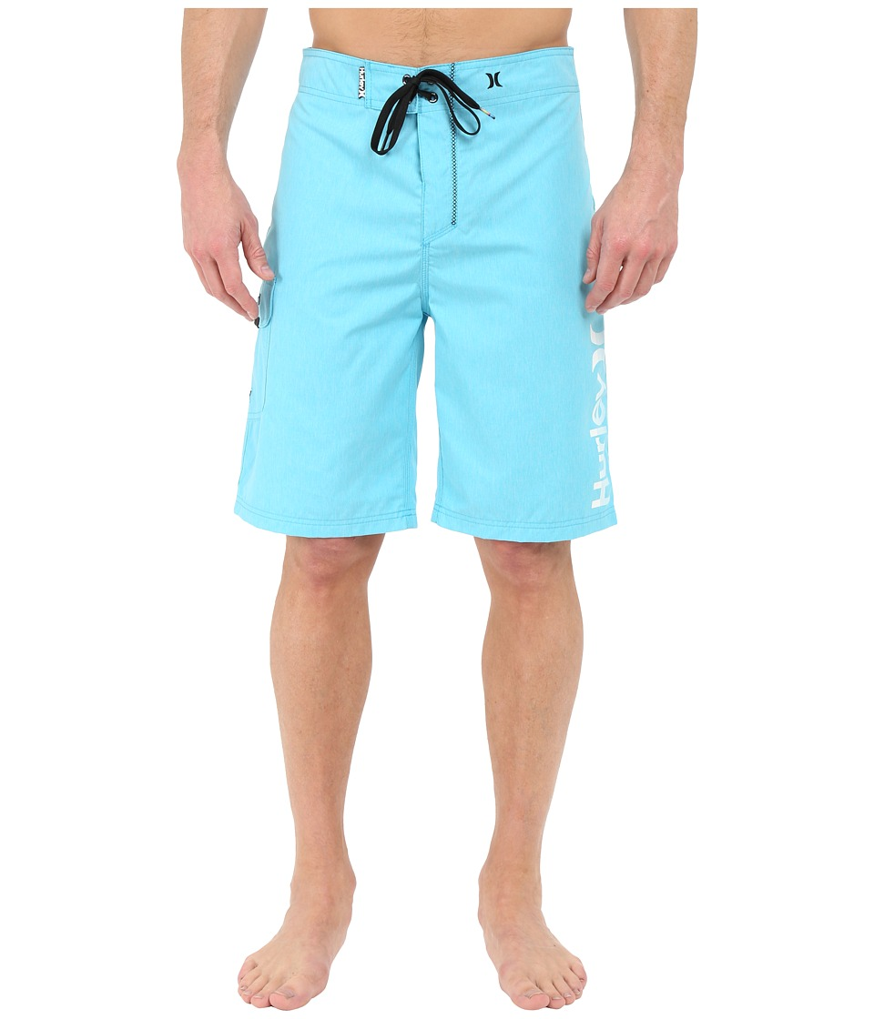 Hurley - Heathered One Only 22 Boardshorts (Beta Blue) Men's Swimwear