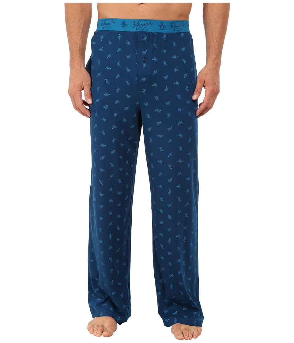 Original Penguin - Lounge Pants (Poseidon Paddle Paisley) Men's Underwear