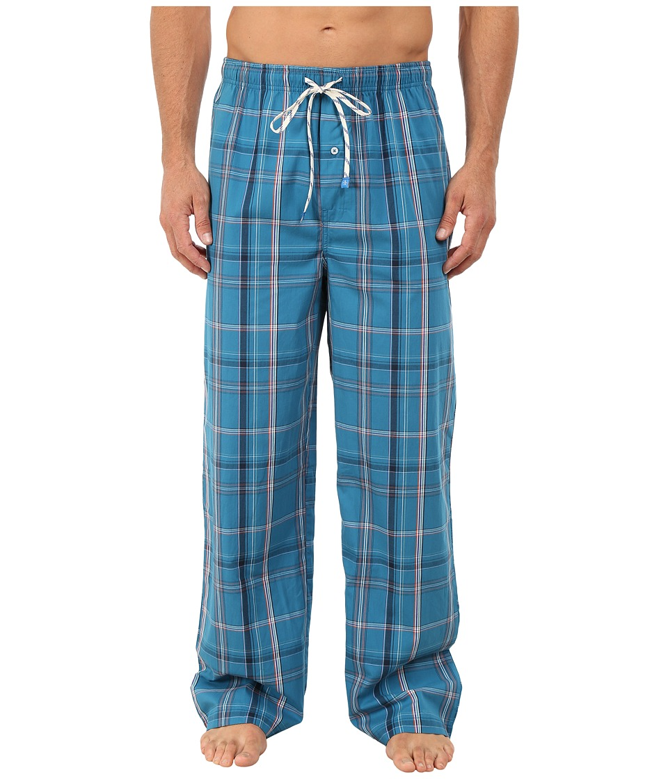Original Penguin - Woven Pants (Seaport Miami Plaid) Men's Underwear