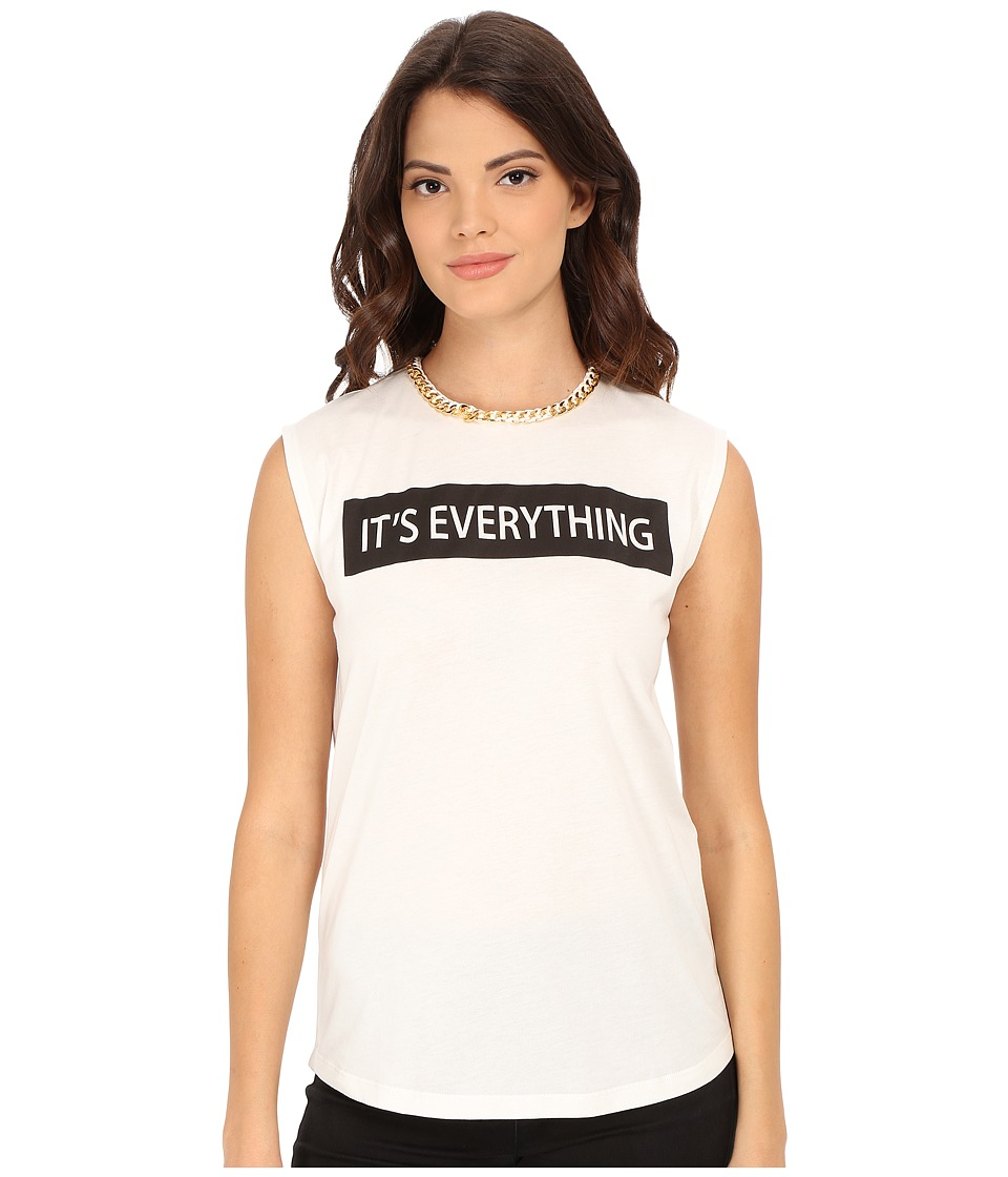Rachel Zoe - Lettie T-Shirt (White/Black) Women's T Shirt
