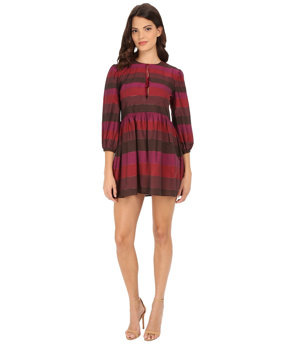 Rachel Zoe - Valetta Mini Dress (Plum) Women's Dress