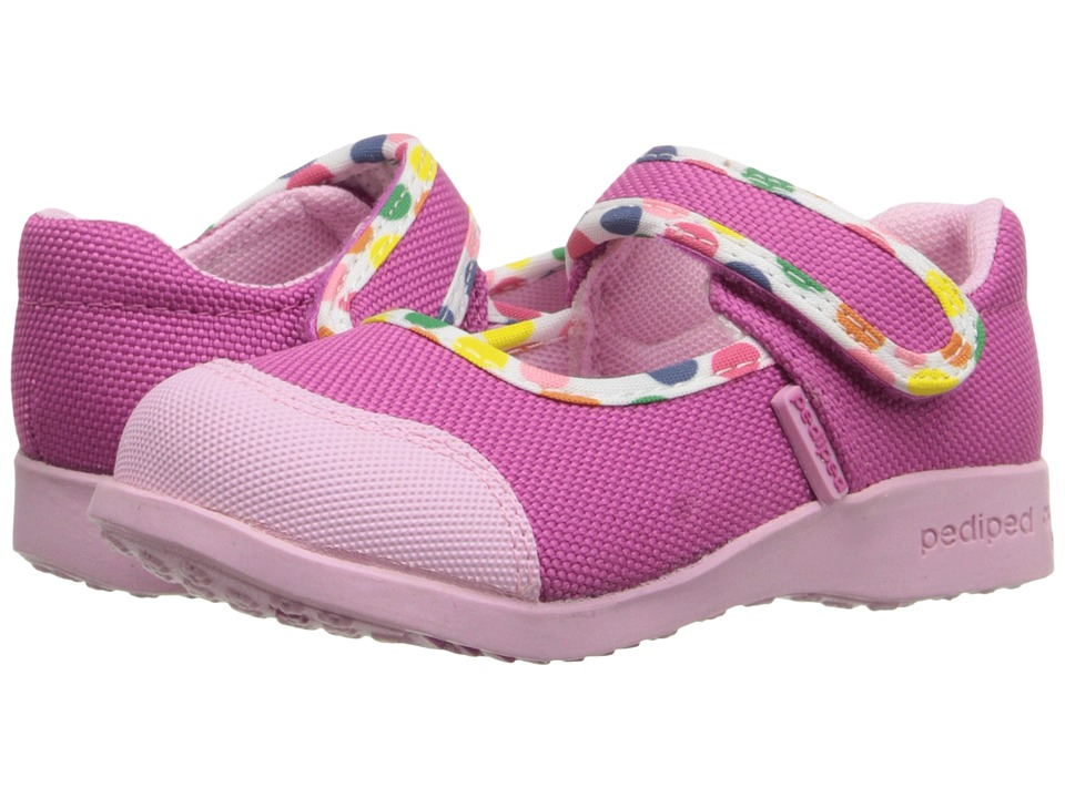 pediped - Bree Flex (Toddler/Little Kid) (Pink Polka) Girl's Shoes