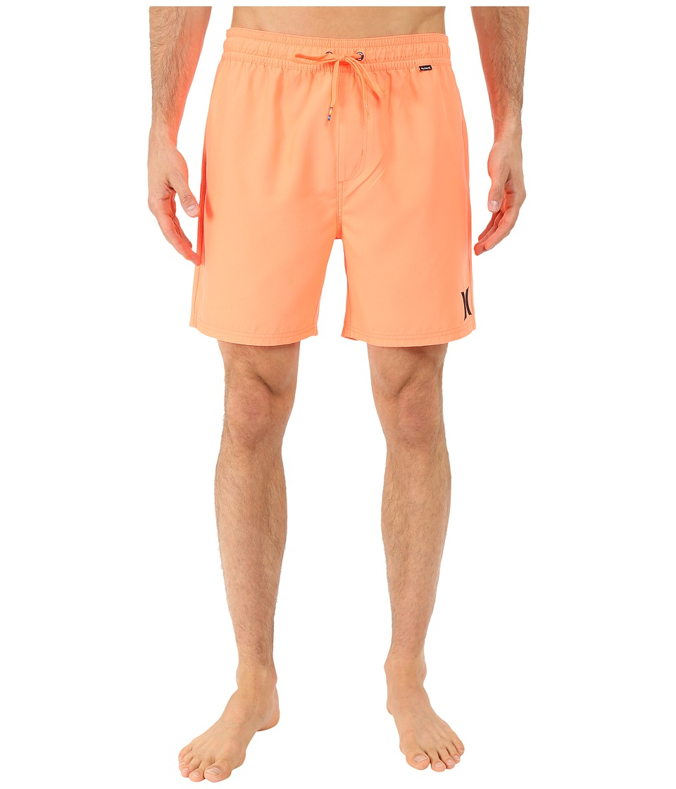 Hurley - One Only Volley (Bright Mango) Men's Swimwear