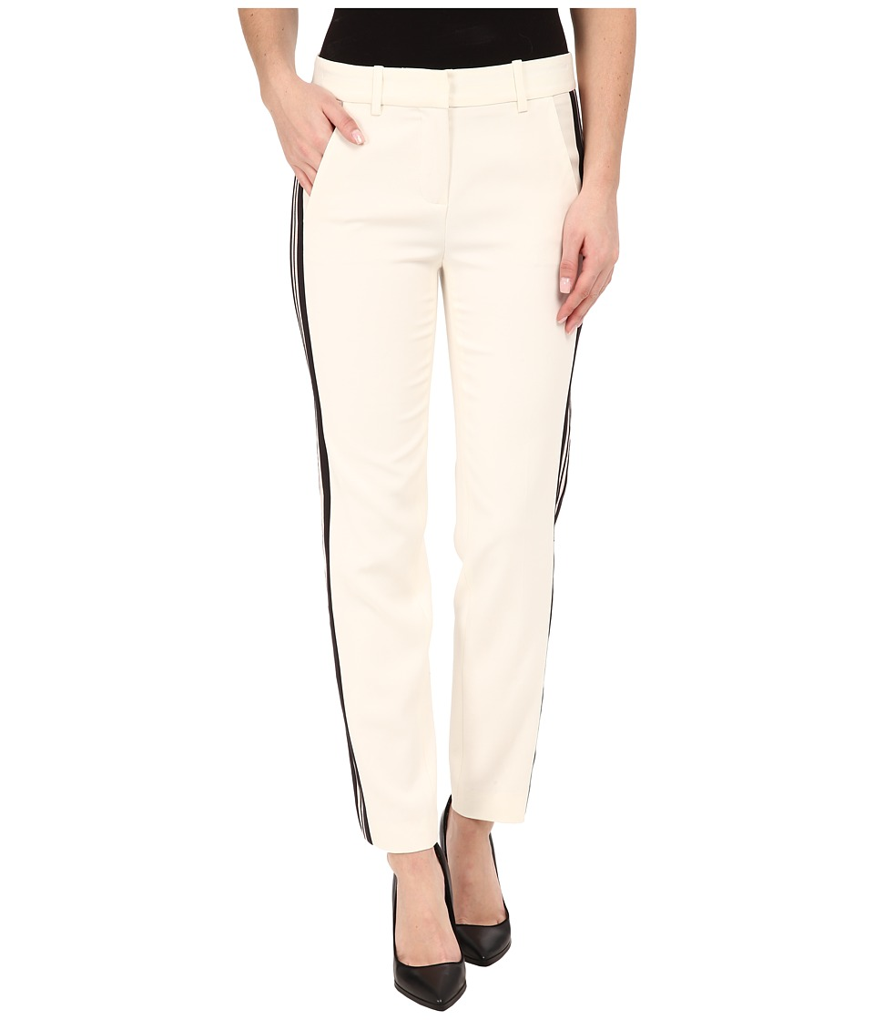 Rachel Zoe - Cigarette Trousers (Ecru) Women's Casual Pants