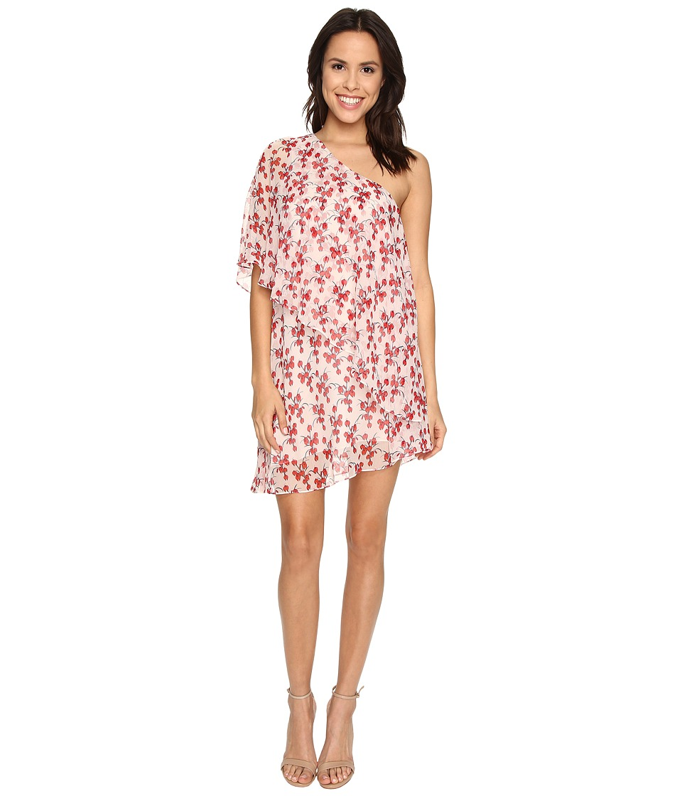 Rachel Zoe - Carmen One Shoulder Mini Dress (Day Orchid) Women's Dress