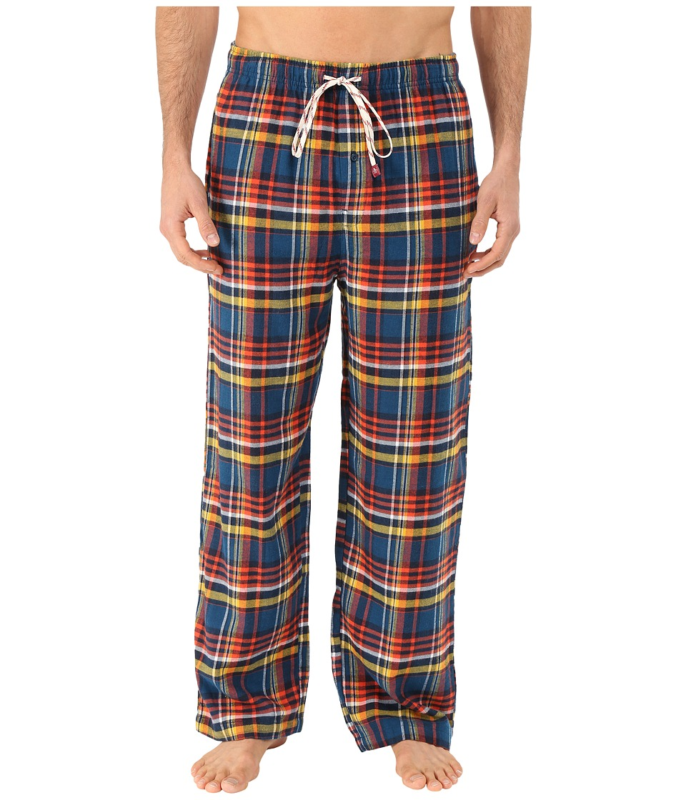 Original Penguin - Flannel Pants (Poseidon Pine Plaid) Men