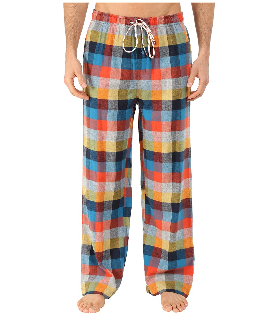 Original Penguin - Flannel Pants (Seaport Lodge Plaid) Men's Pajama