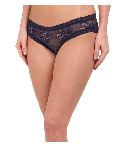 Natori - Bliss Lace Girl Brief (Midnight) Women