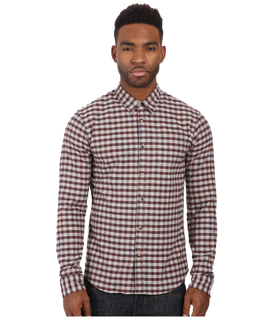 Scotch & Soda - Grindle Check Shirt (Multi) Men's Long Sleeve Button Up