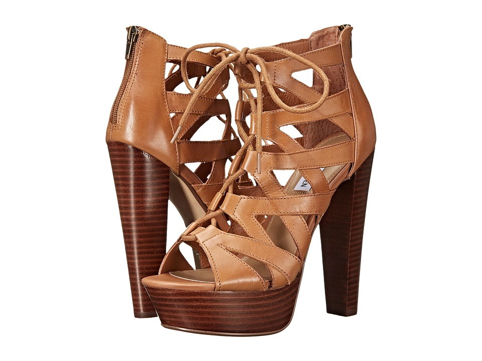 Steve Madden - Dreamgrl (Tan Leather) High Heels