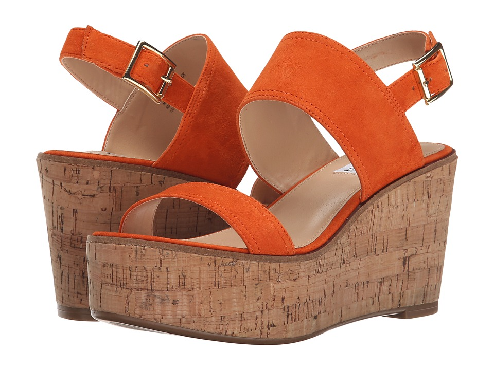 Steve Madden - Caytln (Orange Suede) Women