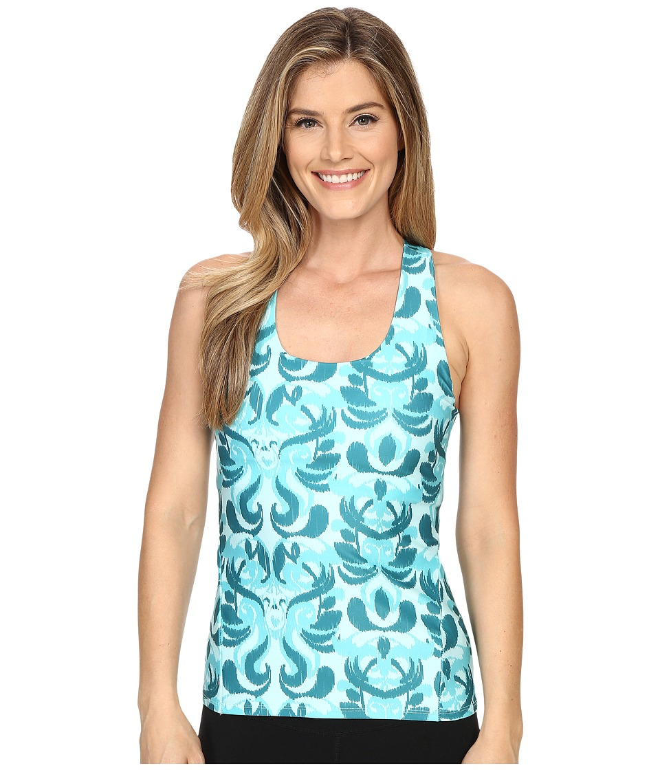 Stonewear Designs - Lyra Top (Aqua Paradise) Women's Workout