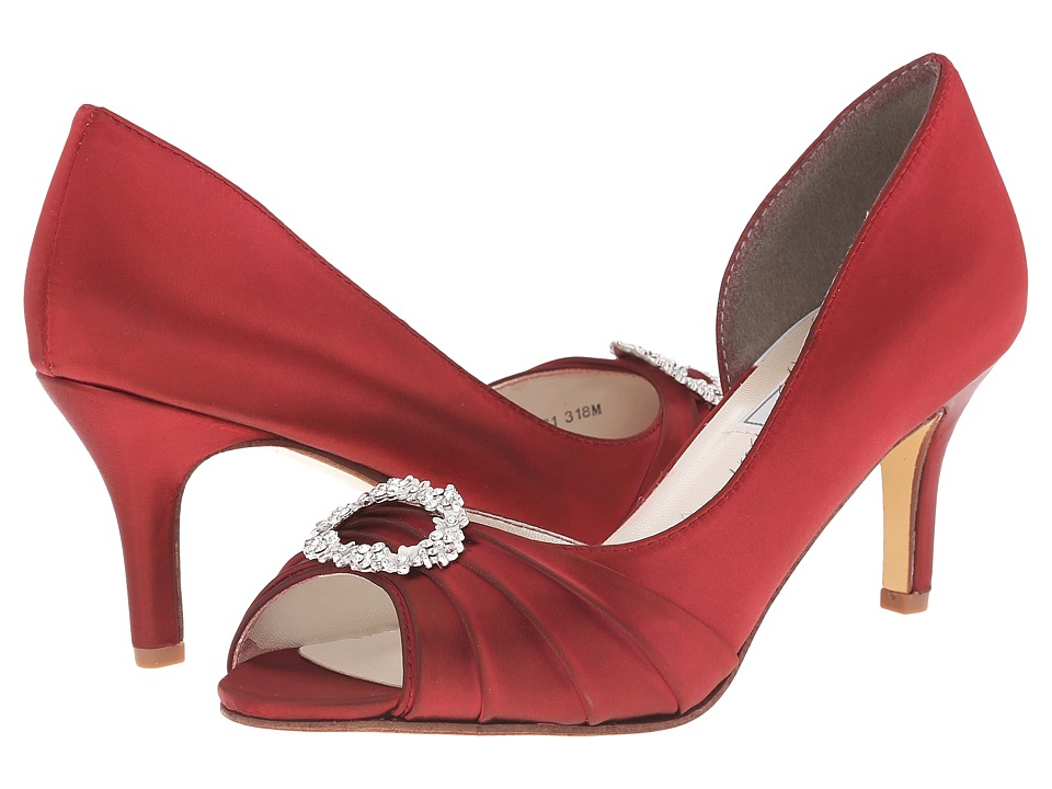 Touch Ups - Olivia (Claret) Women's Bridal Shoes