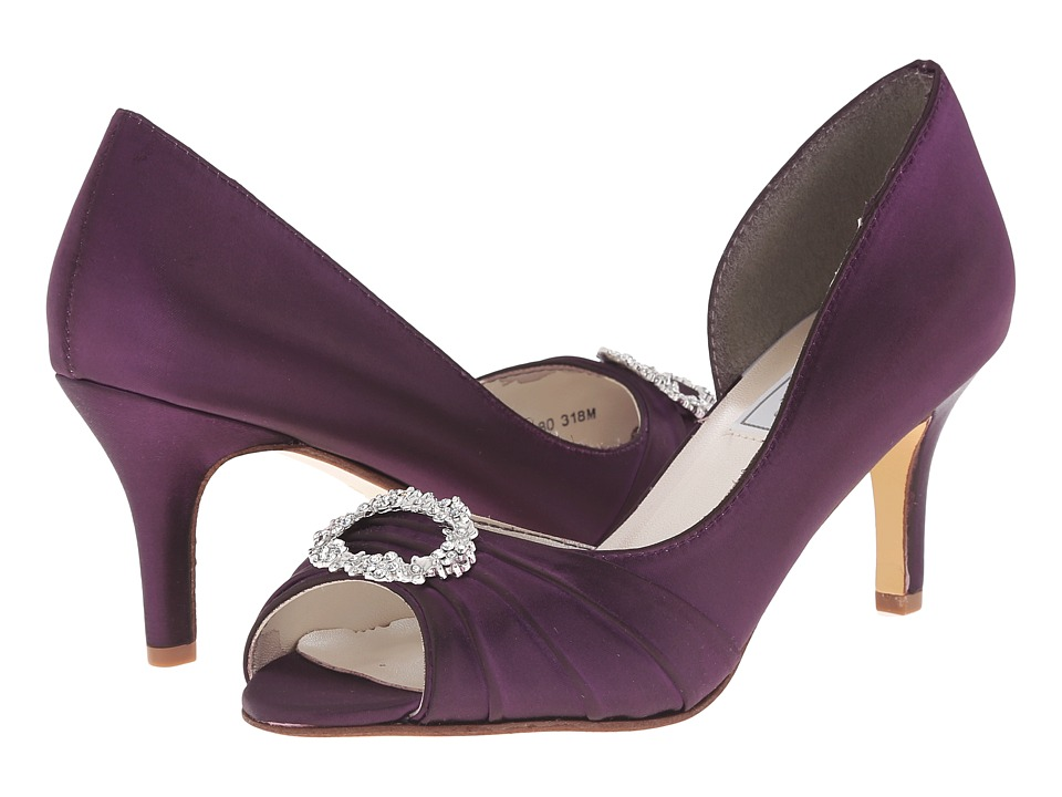 Touch Ups - Olivia (Aubergine) Women's Bridal Shoes