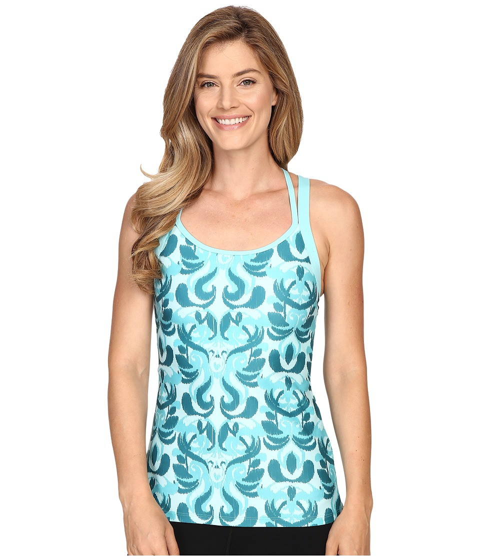 Stonewear Designs - Double Cross (Aqua Paradise) Women's Clothing