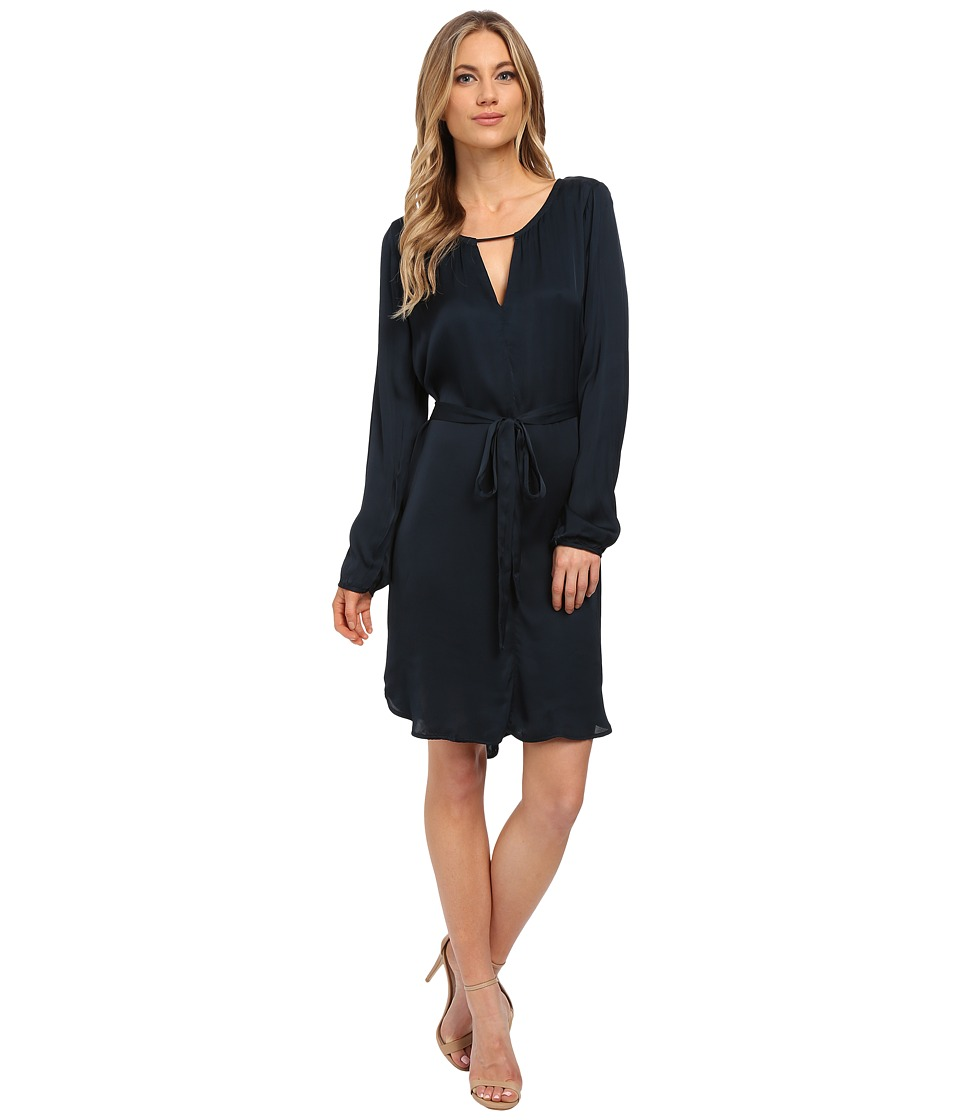 Velvet by Graham & Spencer - Amorita Long Sleeve Dress (Hudson) Women's Dress