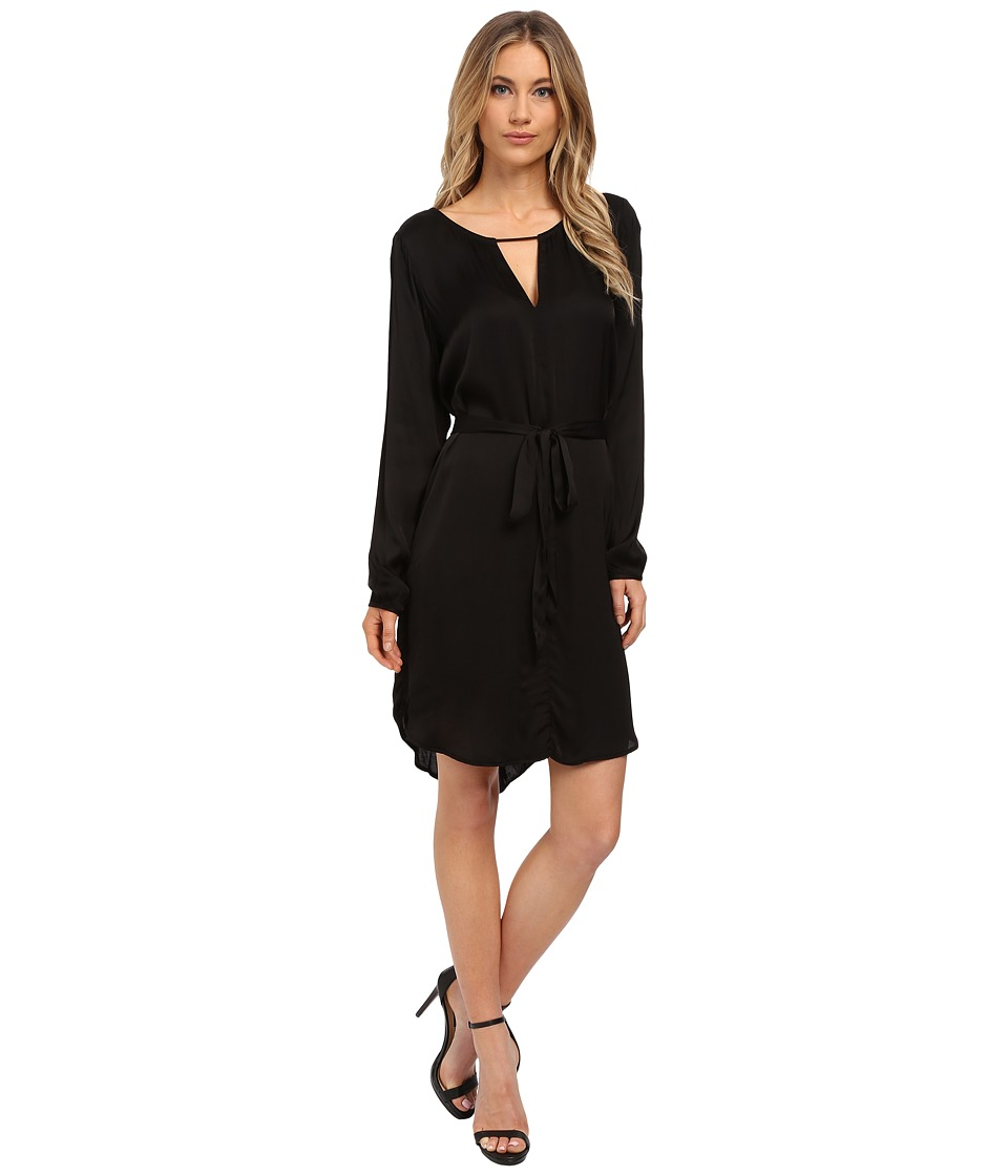Velvet by Graham & Spencer - Amorita Long Sleeve Dress (Black) Women's Dress
