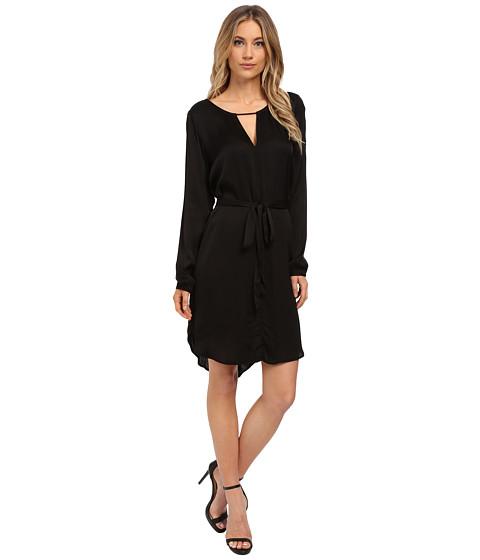 Velvet by Graham & Spencer - Amorita Long Sleeve Dress (Black) Women's Dress