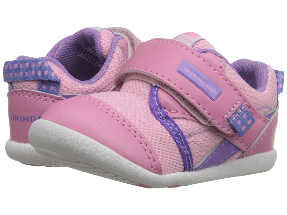 Tsukihoshi Kids - Koinu (Toddler) (Pink/Purple) Girls Shoes