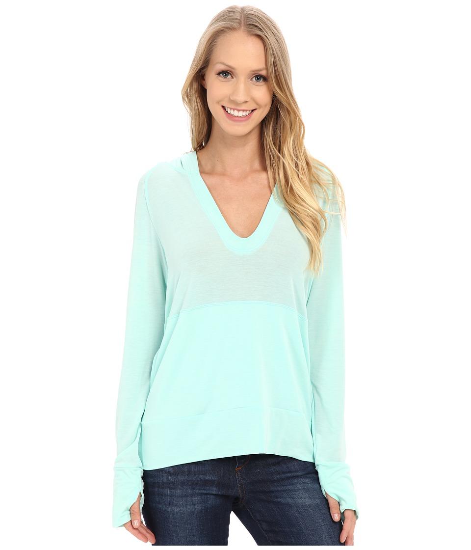 Stonewear Designs - Breeze Pullover (Aqua) Women's Clothing