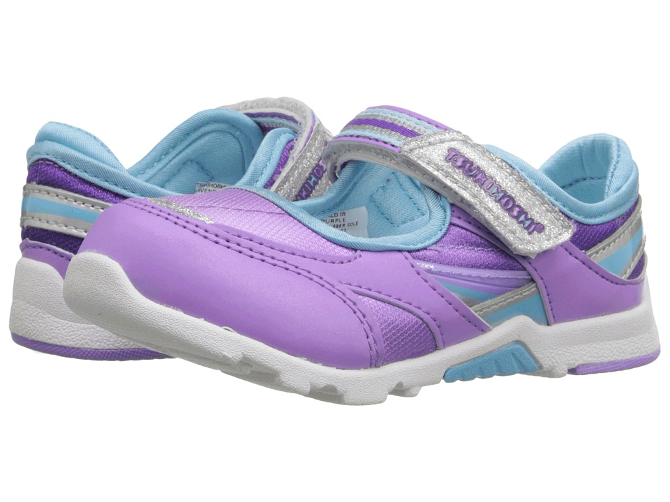 Tsukihoshi Kids - Glamour (Toddler/Little Kid) (Lavender/Purple) Girls Shoes