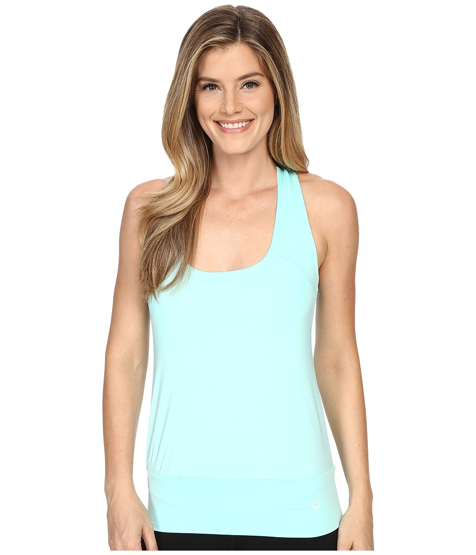 Stonewear Designs - Tango Tank Top (Aqua) Women's Sleeveless