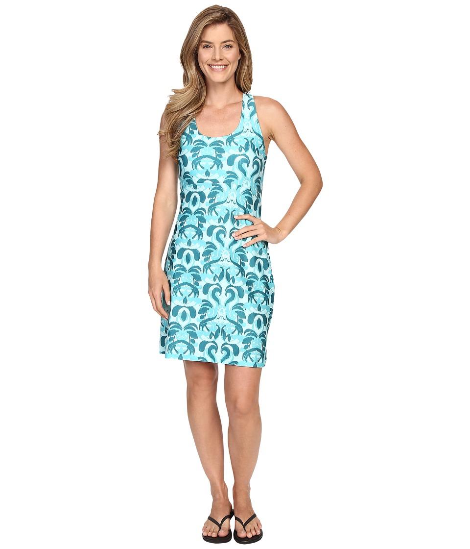 Stonewear Designs - Lyra Dress (Aqua Paradise) Women's Dress