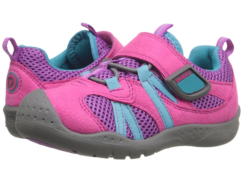 pediped - Renegade Flex (Toddler/Little Kid) (Pink) Girl's Shoes
