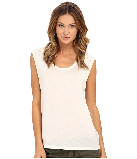 Velvet by Graham & Spencer - Rosalba Tank Top (Cream) Women's Sleeveless