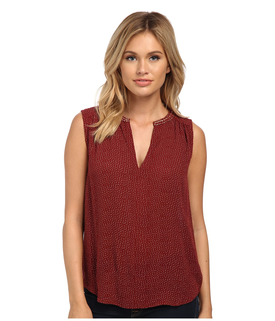 Velvet by Graham & Spencer - Caterina Tank Blouse (Red) Women's Blouse