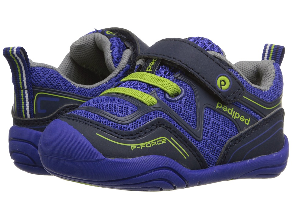 pediped - Force Grip n Go (Toddler) (Surfer Blue) Boy's Shoes