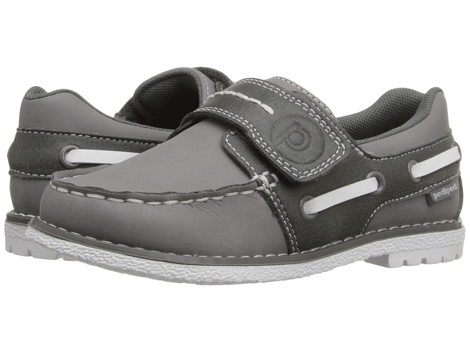 pediped - Norm Flex (Toddler/Little Kid) (Grey) Boys Shoes