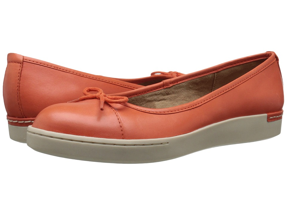 Clarks - Cordella Alto (Orange Leather) Women