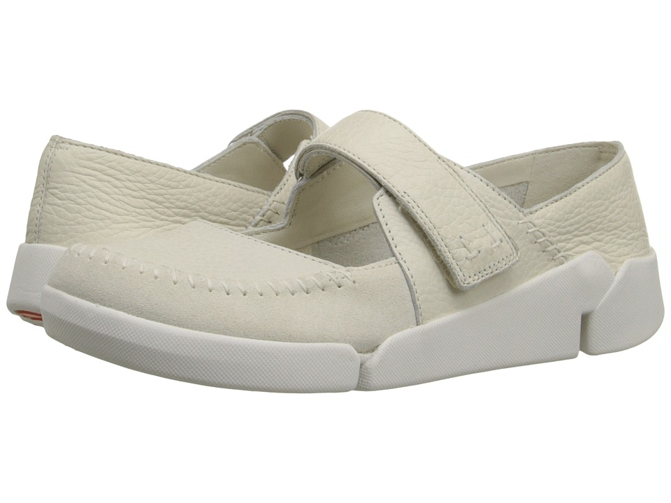 Clarks - Tri Amanda (Off-White Combi) Women's Shoes