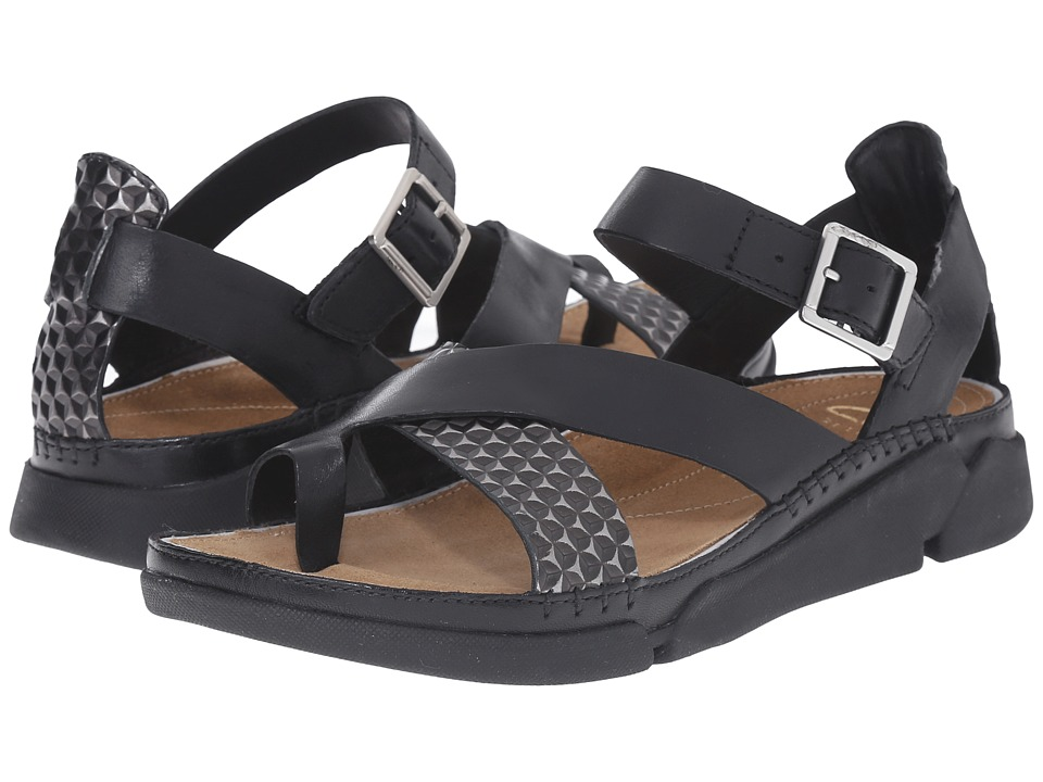 Clarks - Tri Ariana (Black Combi) Women's Sandals