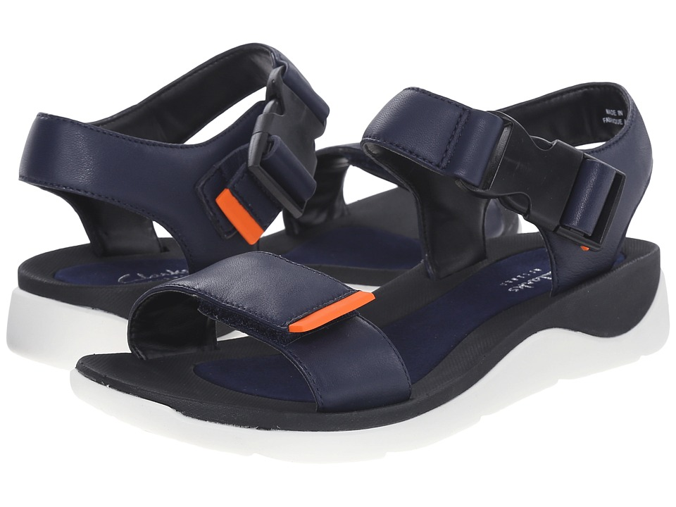 Clarks - Caval Dixie (Navy Leather) Women's Sandals
