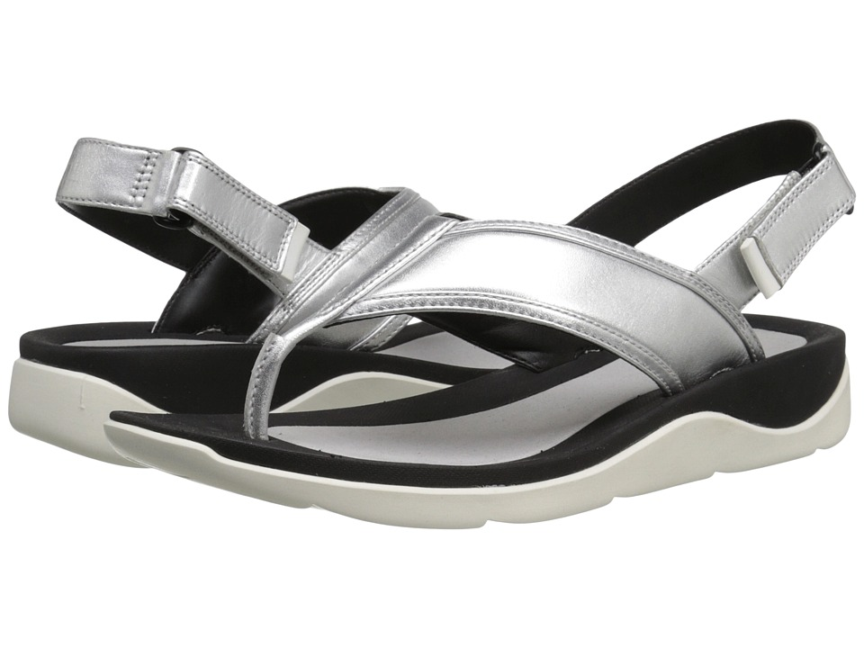 Clarks Caval Kora (Silver Leather) Women