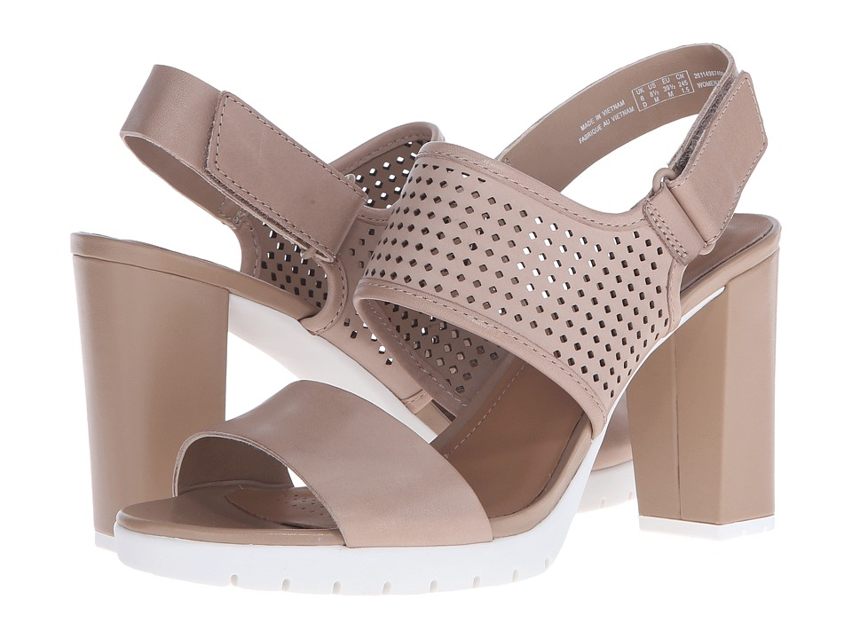 Clarks - Pastina Malory (Sand Leather) High Heels