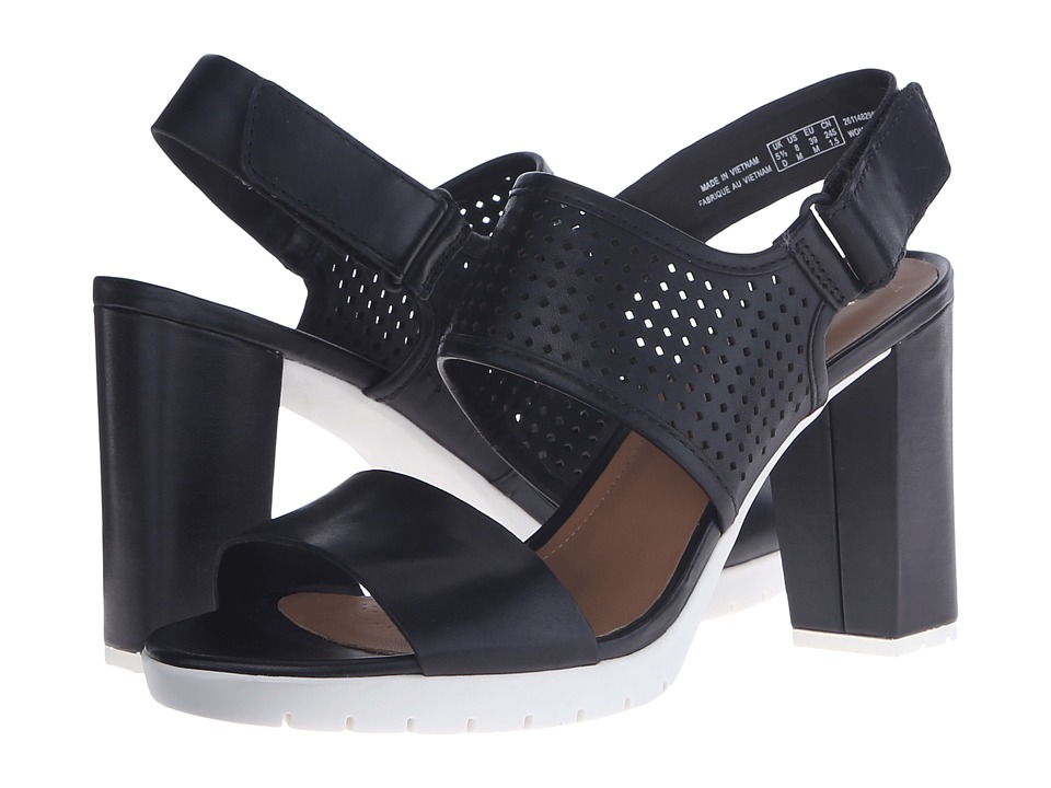 Clarks - Pastina Malory (Black Leather) High Heels