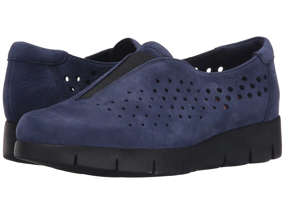 Clarks - Daelyn Summit (Navy Nubuck) Women's Wedge Shoes