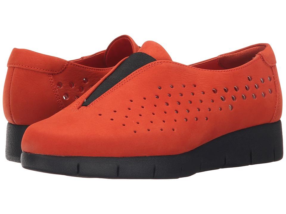 Clarks - Daelyn Summit (Grenadine Nubuck) Women's Wedge Shoes