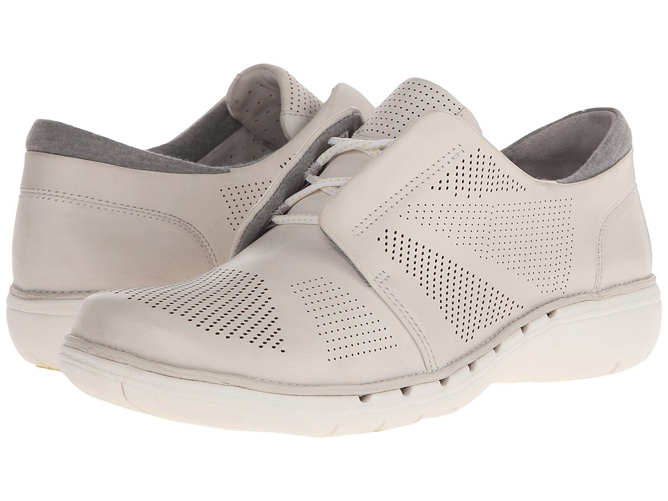 Clarks - Un Voltra (White Leather) Women's Shoes