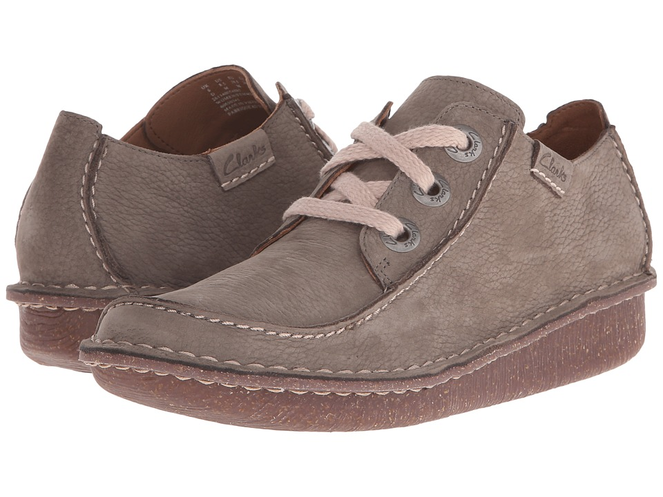 Clarks - Funny Dream (Sage Suede) Women's Lace up casual Shoes
