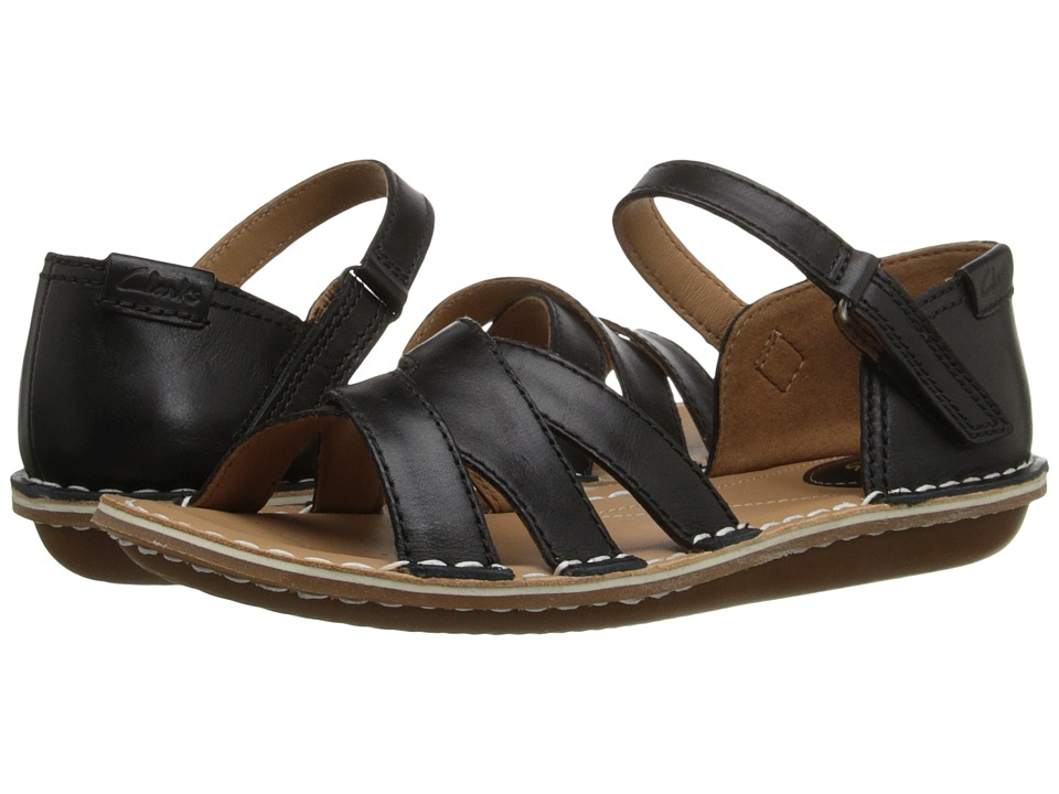 Clarks - Tustin Sahara (Black Leather) Women's Sandals