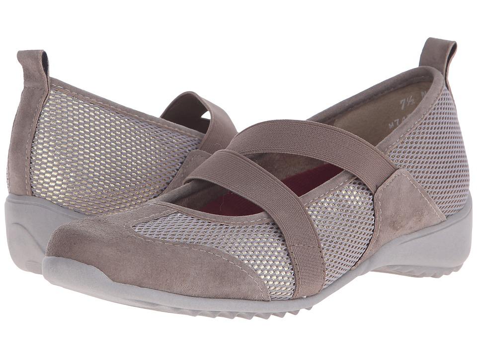 Munro - Zip (Taupe Combo) Women's Maryjane Shoes