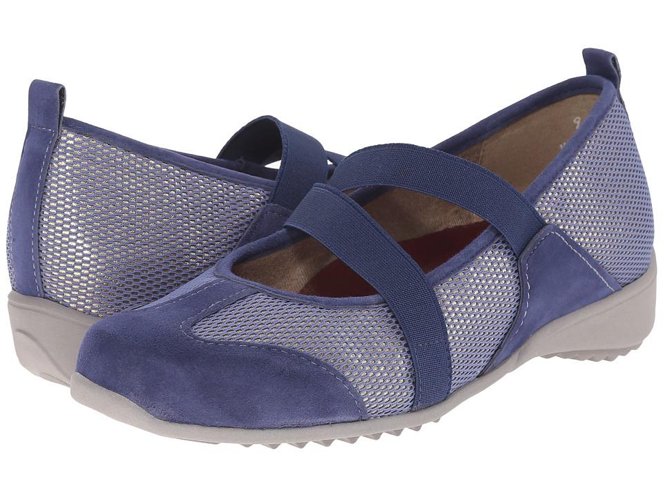 Munro - Zip (Blue Combo) Women's Maryjane Shoes