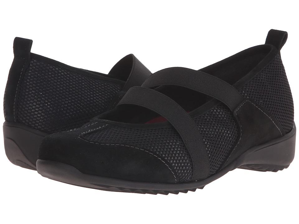Munro - Zip (Black Combo) Women's Maryjane Shoes