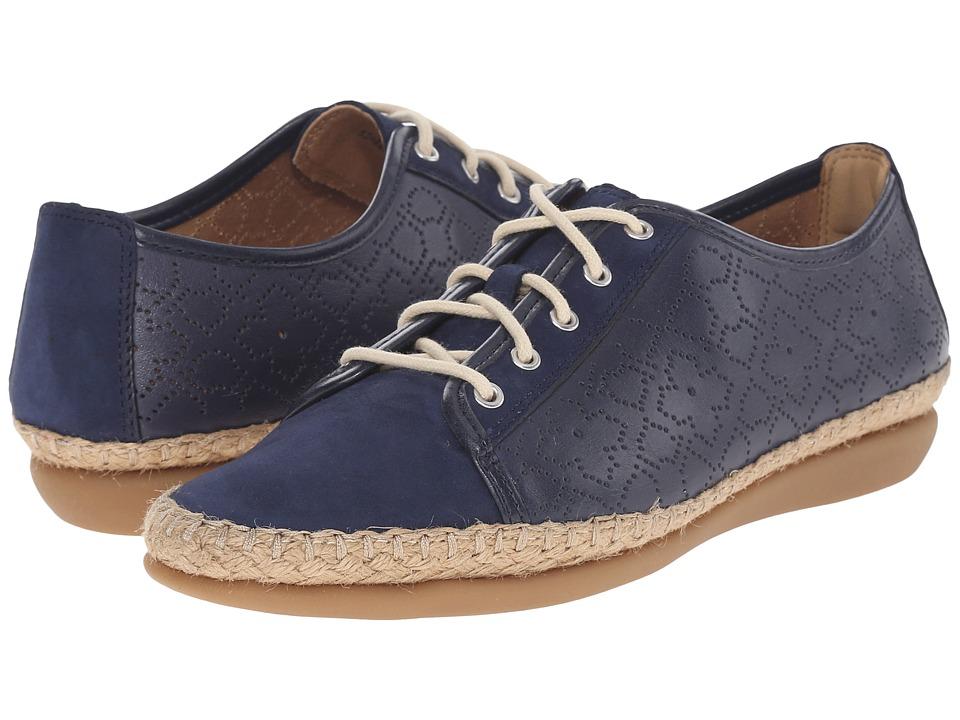 Clarks - Reeney Rita (Navy Nubuck) Women's Lace up casual Shoes