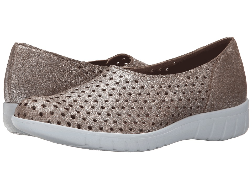 Munro - Skipper (Platinum Fabric) Women's Slip on Shoes