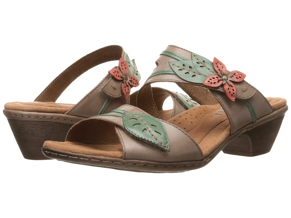 Rockport Cobb Hill Collection Cobb Hill Vivian (Khaki Multi) Women